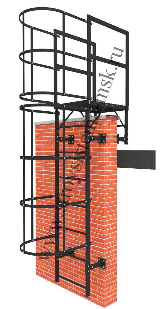 Пожарная лестница П1-2